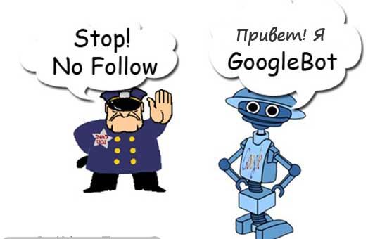 тег nofollow и Google