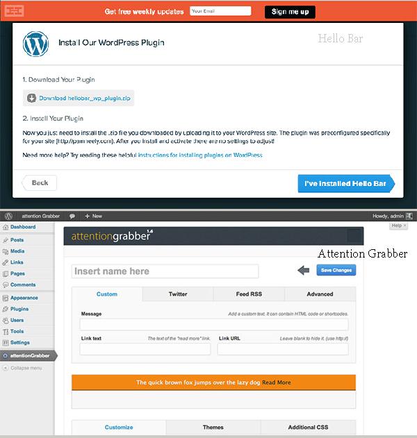 Сбор данных и уведомления плагины Wordpress