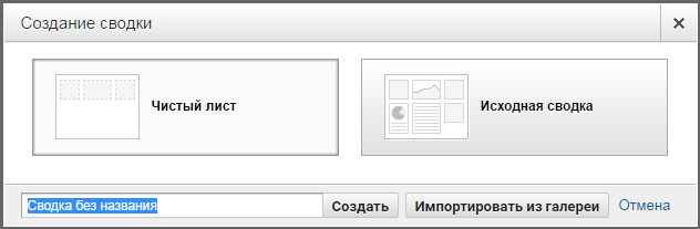 сводки Google Analytics