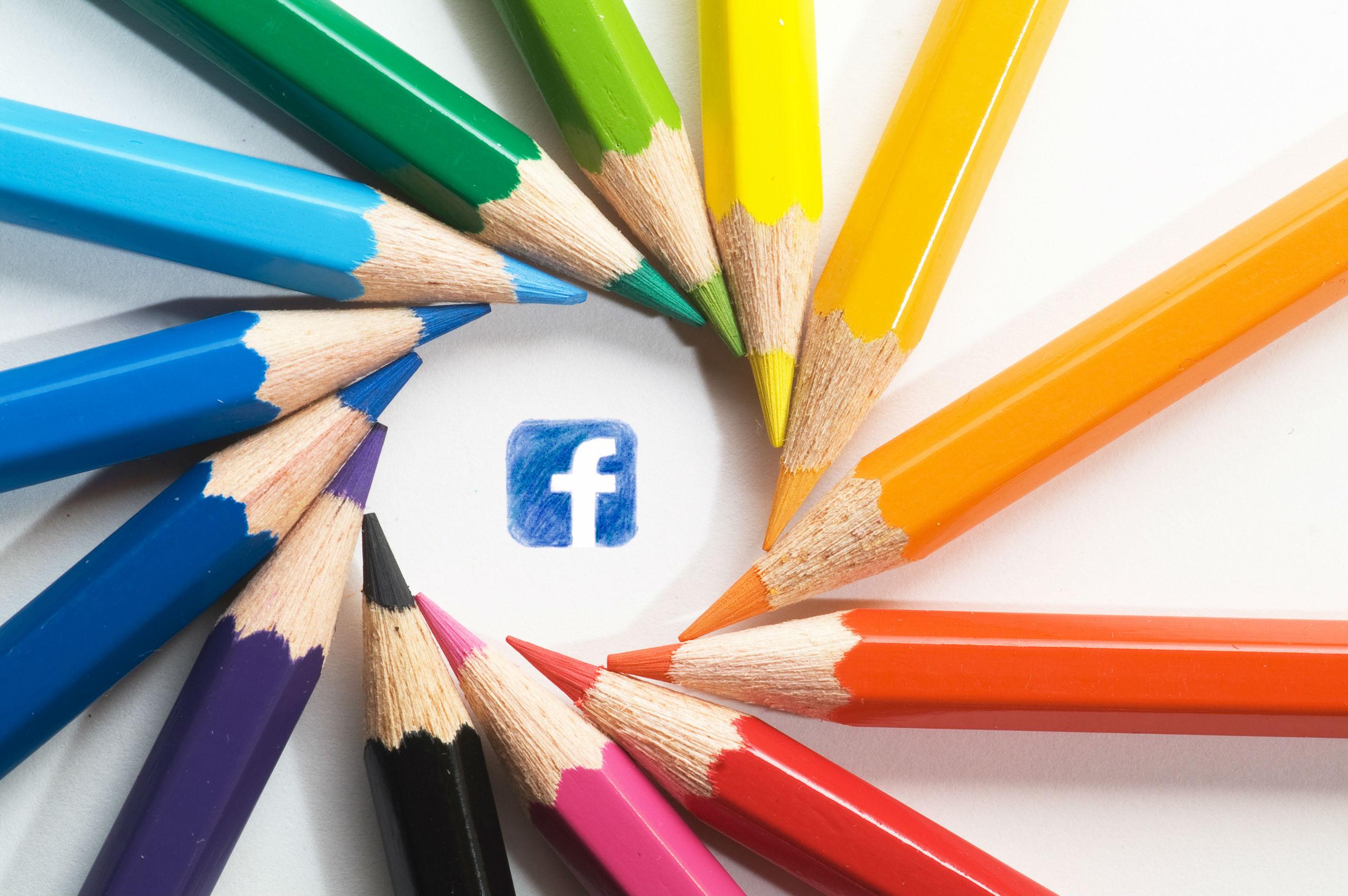 Обложка Фейсбука как переплет книги