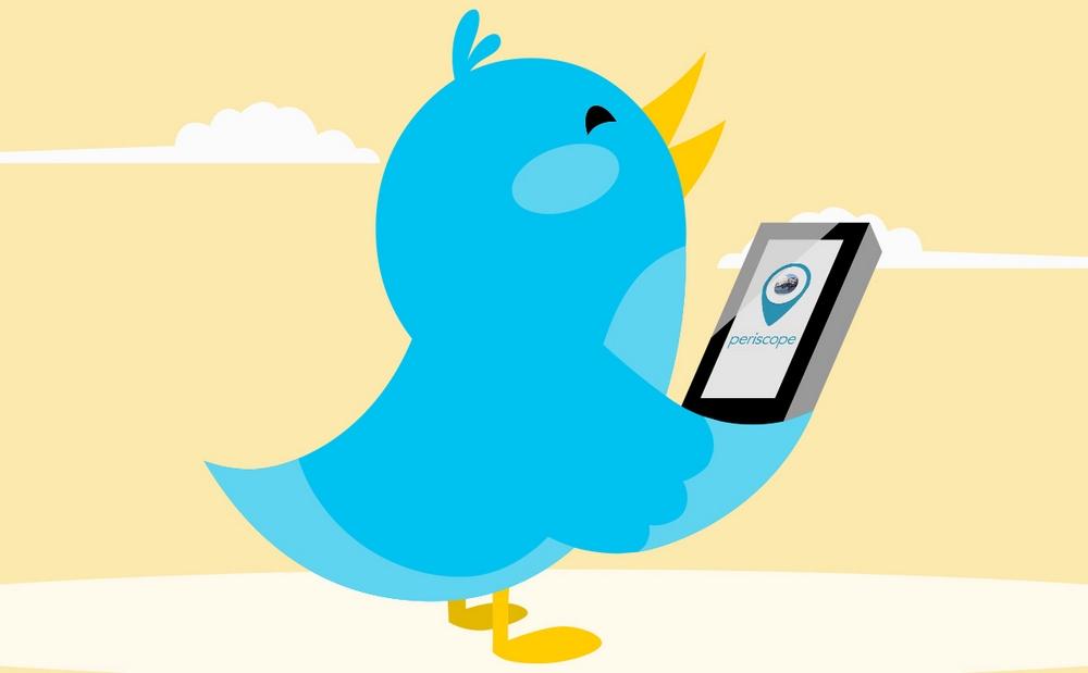 Twitter и Periscope